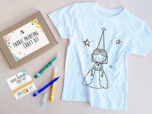 Princess coloring t-shirt