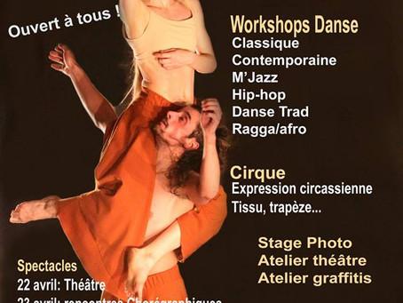 Le festival de danse et de cirque des 3A de St-Gaudens (31) - (1/2)