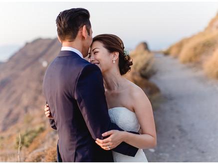 Cynthia & Dexter / Destination Wedding Santorini