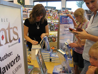 Danette Haworth Barnes and Noble event