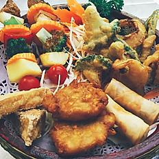 # 2 Parn Ruem Jay  Vegetarian platter