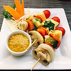 # 13 Vegetable Satay