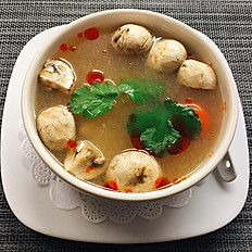 # 18 Tom Yum Soup (little spicy)