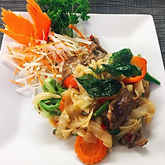 #63 Pad Kee Mao (very spicy)