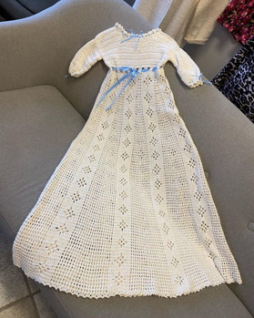 Håndlavet Dåbskjole