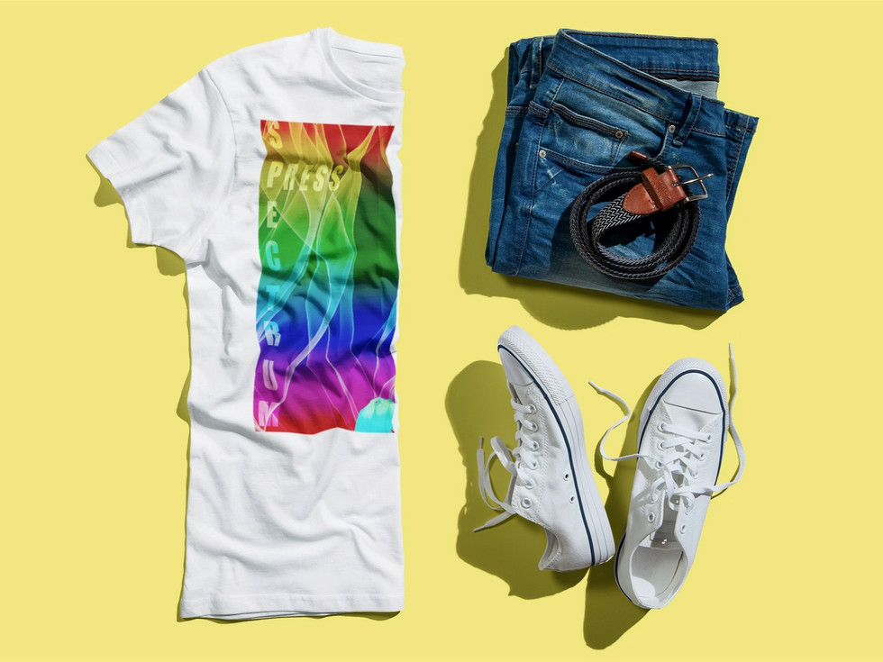outfit-mockup-of-a-t-shirt-folded-in-hal