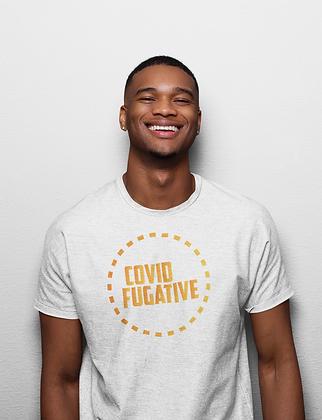 """""""Covid Fugitive"""" Gildan Softstyle Unisex 50/50 shirt"""