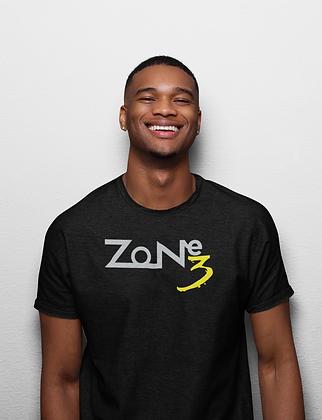 """Zone 3"" Gildan Softstyle Unisex 50/50 shirt"