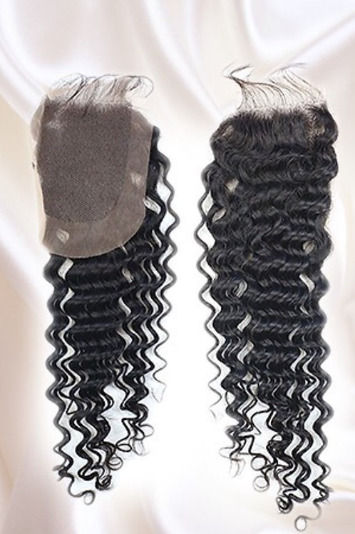 Steamed Curly Lace Closure