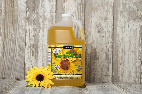 1 Gallon Plastic Cold Pressed Sunflower Oil