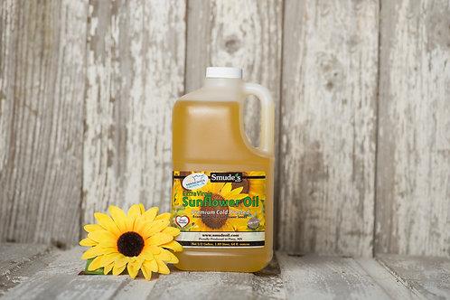 1/2 Gallon Plastic Cold Pressed Sunflower Oil