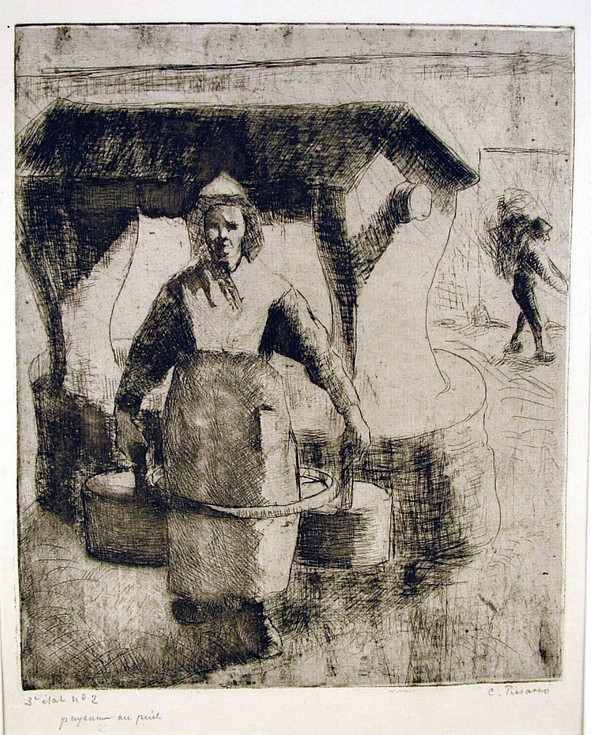Paysanne au Puits (Peasant Woman at the Well)