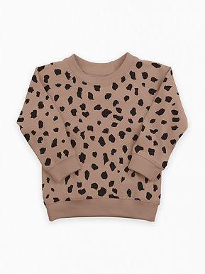 Cheetah Pullover