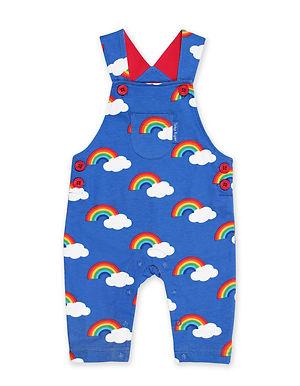 Rainbow Print Dungaree