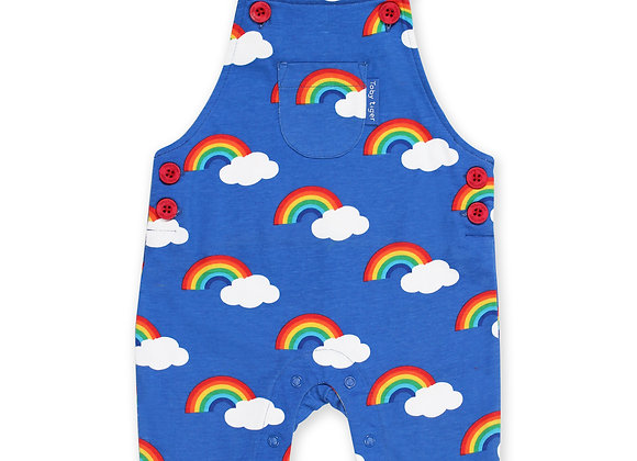 Rainbow Print Dungaree