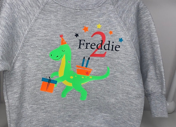 Party Dino Personalized Apparel