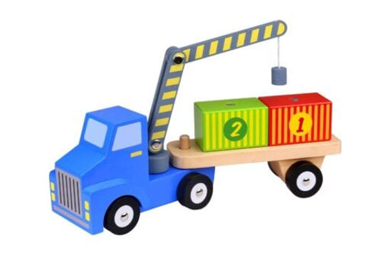 Wooden Container Lorry