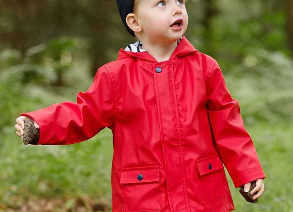 'Red' Rain coat