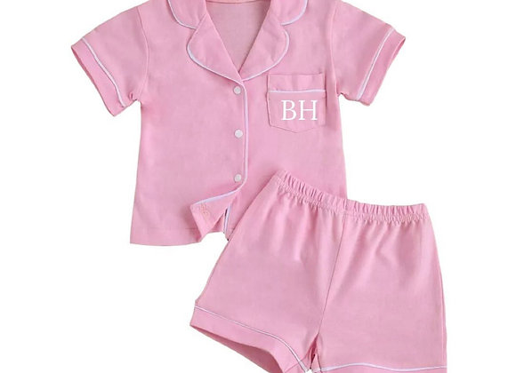 Pink Pyjamas (personalised or plain)