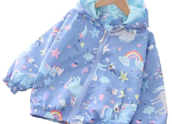 Purple Fantasy world  Windbreaker Jacket