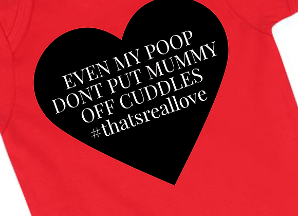 Poop Slogan Valentines Grow