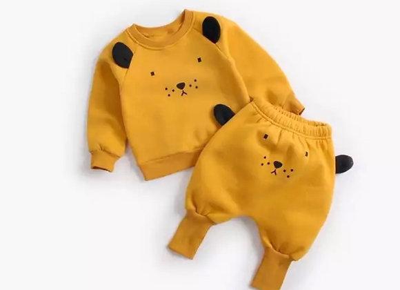 Mustard Bear Suit