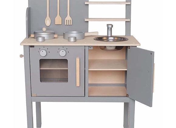 Wooden Kitchen - Grey