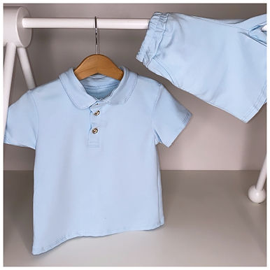 'Ronnie' set in sky blue