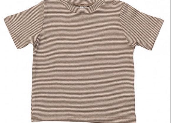Mocha Striped T