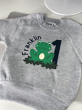 Mr Frog - Personalised Theme apparel