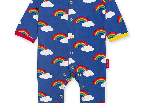 Rainbow Print Sleepsuit