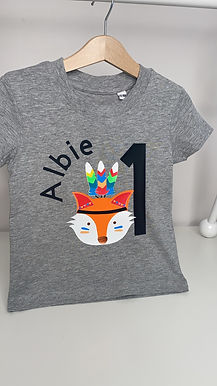 Albie Fox Theme - Personalised Apparel