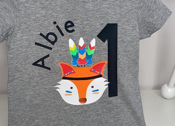 Albie Fox Theme - Personalised Apparel