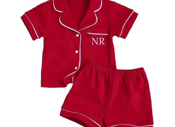 Red Pyjamas (personalised or plain)