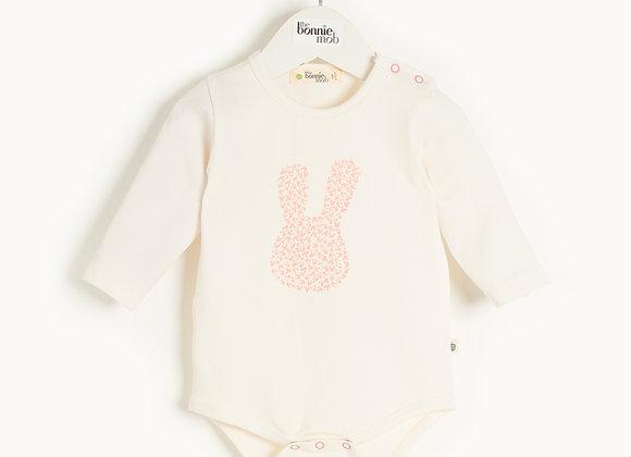 SKYLAR - Baby Bunny Bodysuit PINK