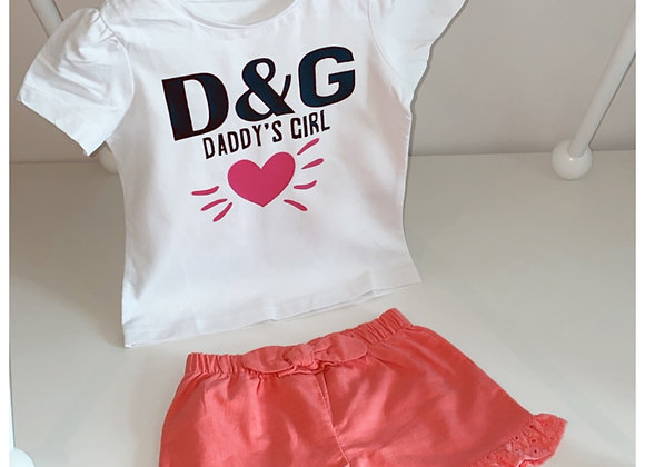 D&G Daddy's Girl Tshirt
