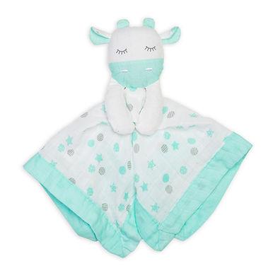 Cotton Muslin Lovie - Giraffe