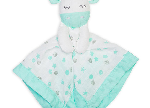 Cotton Muslin Lovie - Giraffe