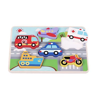 Toot toot puzzle