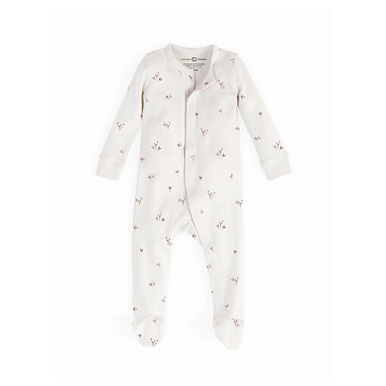 Floral Quinn Footed Sleepsuit