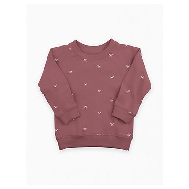 Bow Berry Pullover