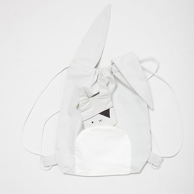 Animal Stringbag - Pirate Bunny