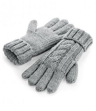 Grey Junior/Adult chunky Gloves