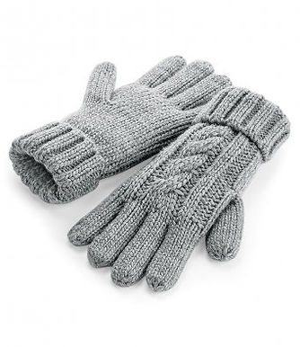 Grey Junior/Adult chunky Gloves