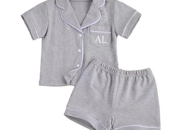 Grey Pyjamas (personalised or plain)