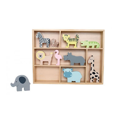 Safari Animal Shelf