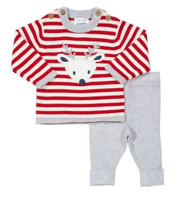 Reindeer Knit Set