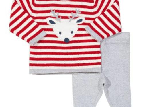 Reindeer Knit Set
