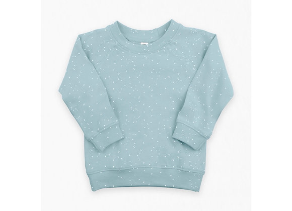 Speckle Blue Pullover