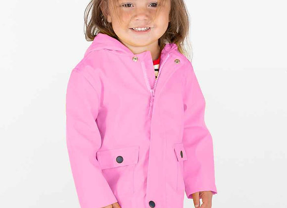 Candy Pink Raincoat
